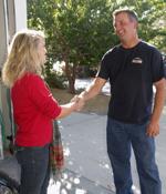 Fair Pricing Another Happy Action Garage Door Customer.
