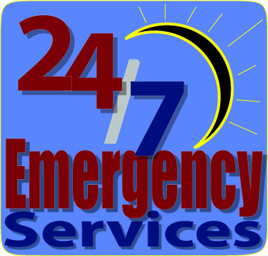 Emergency Garage Repair Service 24/7 24 Hours 7 Days A Week Emergency  Services. Action Garage Door ...