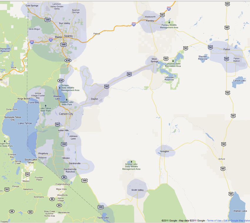 Bon Roll Over To Enlarge Map. We Take MasterCard And Visa. Garage Door Repair  Reno, Carson City ...